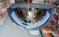 Polykarbonátové zrcadlo (vnitřní) 180°